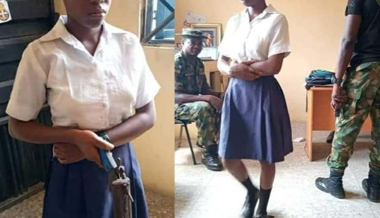 Shs Female Student Takes A Gun To School To Sh00t Her Teacher For Asking Her To Shave Her Hair