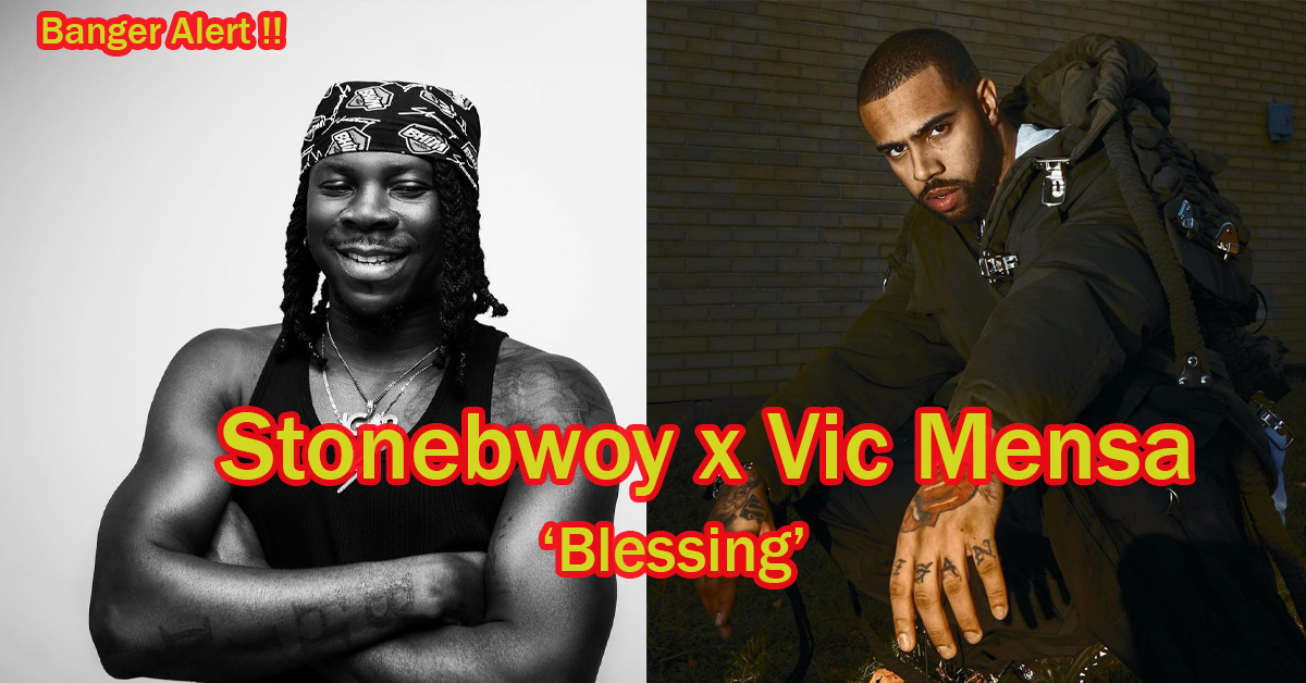 """Stonebwoy Announces His New Single """"Blessing"""" Featuring Vic Mensa - Full Details"""